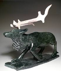 eskimo soapstone carvings pavinak petaulassie dorset arts