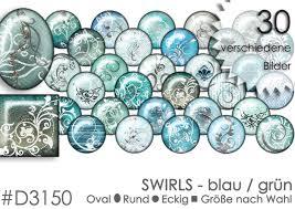 Cabochon Vorlagen Blau Digitale Downloads Cabochon Vorlagen Cabochonvorlagen Swirls