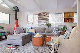 Living Room No Rugs 96x132 Rug Cayman Multi Living Spaces