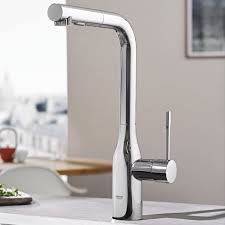 grohe faucet kitchen essence single handle pull out kitchen faucet with dual spray
