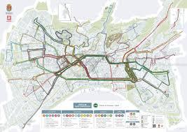 Milan Metro Map by Metro Maps Interior Decorative Panels Textures