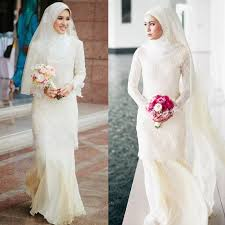 wedding dress muslimah 2015 modest high quality muslim wedding dresses sheath high neck