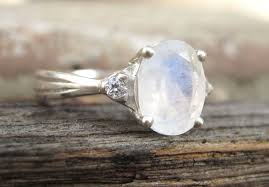 vintage oval engagement rings moonstone antique engagement ring antique moonstone ring