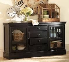 pottery barn buffet table sideboards outstanding black and silver sideboard sideboards and