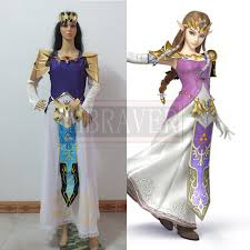 Zelda Halloween Costumes Buy Wholesale Princess Zelda Cosplay China Princess