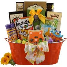 Pet Gift Baskets Pet Lover Gift Baskets Cat U0026 Dog Gift Packages Gift Basket Bounty