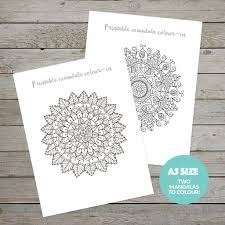 printable planner kit stickers banners mandalas free download