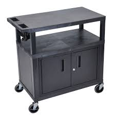 Kitchen Cart With Cabinet Luxor Kitchen Carts U0026 Islands Sears