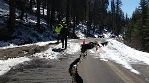 key yosemite roads closed due to damage central california