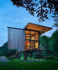 washington state house a compact low maintenance cabin in washington state design milk