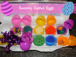 sensory easter eggs easter activities for kids easter