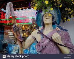 souvenir shop of native american art in arizona usa stock photo