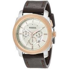 Fossil Machine 3 Hand Date Leather Fossil Men U0027s Watches For Less Overstock Com