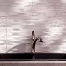 fasade kitchen backsplash details for fasade backsplash waves in gloss white chestnut