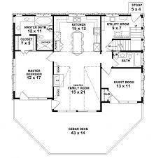 2 bedroom house plans open floor plan home design
