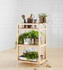 Ikea Molger Bench Molger Cart Birch Herbs Balconies And Gardens