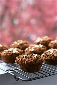 whole wheat vegan carrot cake muffins fannetastic food
