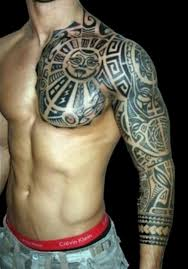 tribal cute tattoos for me design idea for men and women