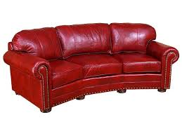 Leather Conversation Sofa King Hickory Living Room Ricardo Leather Conversation Sofa 9965 L