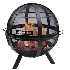 Fire Pit Globe by Landmann Ball O U0027 Fire Fire Pit Walmart Com