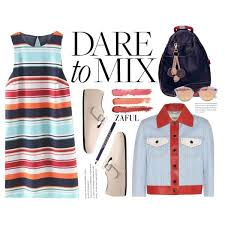 preppy for women over 50 how to wear dare to mix preppy outfit idea 2017 fashion trends