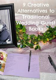 creative wedding guest book ideas 9 creative wedding guest book ideas