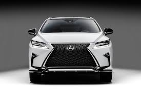 sporty lexus 4 door 2016 lexus rx 350 f sport and rx 450h show up in nyc autoevolution