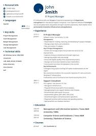 Culinary Resume Sample by Curriculum Vitae Resume Template For College Student With Little
