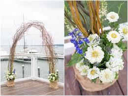 Michaels Wedding Arches Lisa U0026 Don St Michaels Harbour Inn Wedding