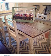 playroom table with storage fixer upper farmhouse table playrooms and room