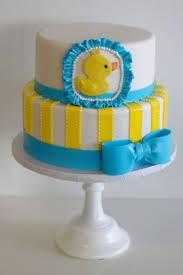 rubber ducky cake love the ruffle around the duck baby shower