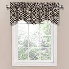 Toile Cafe Curtains Park Toile Tailored Valence Window Curtain