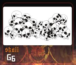 skull templates for airbrushing images