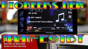 the unboxing of pioneers new avh 291bt youtube