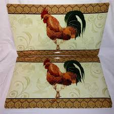 Rooster Rugs For The Kitchen Trendy Rooster Kitchen Decor Setshome Design Styling