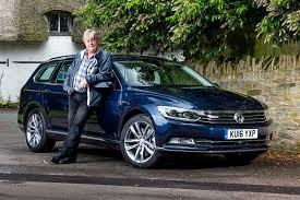 dark blue volkswagen vw passat estate 2017 long term test review by car magazine