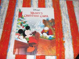 mickey u0027s christmas carol classic storybook disney wiki