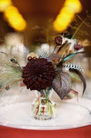Feather And Flower Centerpieces by 26 Best Feathers And Flowers Images On Pinterest Flowers Floral