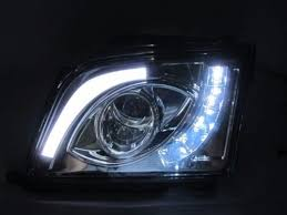 mercedes aftermarket headlights r129 chrome projector led headlights 90 02 merc wheels shop for