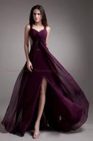 robe violette mariage robe de soirée violette pas cher
