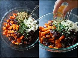 harvest roasted butternut squash quinoa salad easy healthy