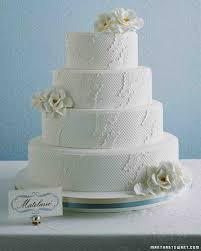 fabric inspired wedding cakes martha stewart weddings