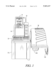 patent us5969247 electronic wheel balancer with variable speed