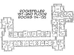 Dormitory Floor Plans Residential Life Bryn Mawr College