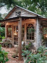 Backyard Decor Pinterest Best 25 Backyard Cabin Ideas On Pinterest Backyard Slide