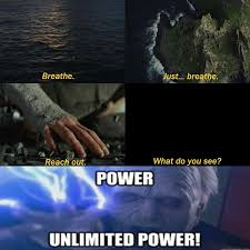 Unlimited Power Meme - i know its not a complete sequel meme but i dident know where else