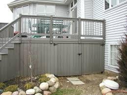 Drysnap Under Deck Rain Carrying System by Storage Under Deck Ideas Home Under Deck Storage Design Ideas