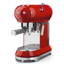 espresso coffee machine ecf01rduk smeg smeg uk ecf01rduk smeg uk