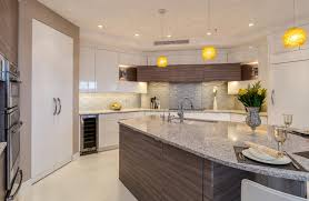 contemporary denver kitchen features white glass cabinets jm
