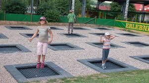 playground in ground trampoline in ground trampolines new
